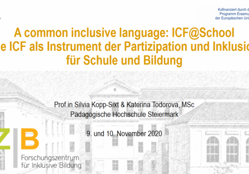 Kick-off events for the opening of the Research Center for Inclusive Education