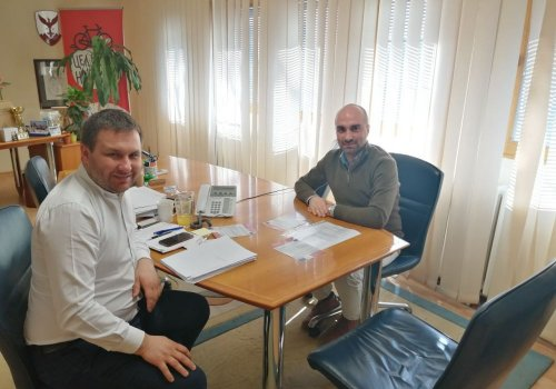 Presentation of the project at the headquarters of the Municipality of Centar